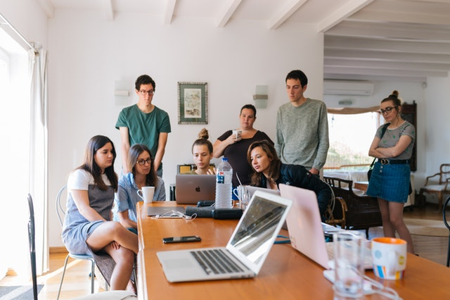 Capa de As melhores partes de trabalhar em um coworking
